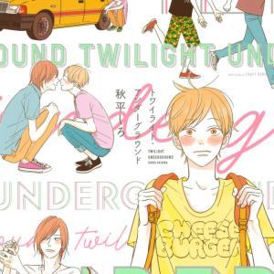 ストーリー厨腐女子のネタバレ感想 秋平しろ『トワイライト・アンダーグラウンド』2冊