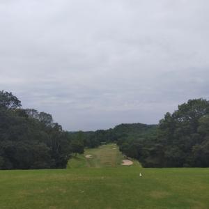 初挑戦のゴルフ場☆