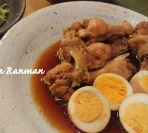 手羽元と卵のお酢煮
