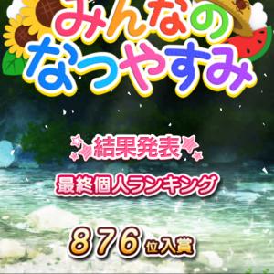 【モバマス】夏休みアイプロ結果発表
