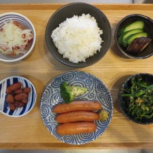 ボイルシャウエッセンの献立(2019年10月3日の朝ごはん)|ファンケルの発芽米の試し炊き
