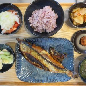 焼き魚(にしん三五八漬け)の献立(2020年3月26日の朝ごはん)