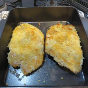 トースターパンで焼きカツ