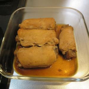 鶏肉ごぼう、こんにゃくのピリ辛煮の作り置き