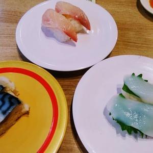かっぱ寿司で食事(コロワイドの株主優待で)