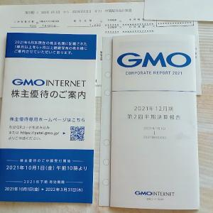 GMOから変更後の株主優待(ビットコイン等)と配当金と報告書