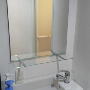 更衣室の鏡♪