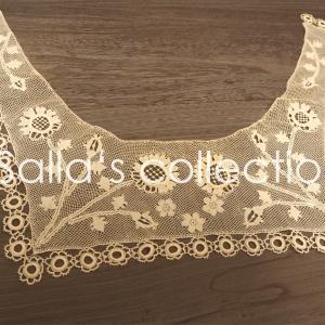 コレクション-アルメニアンレースの襟飾りと定期講座生徒様向け限定通販について