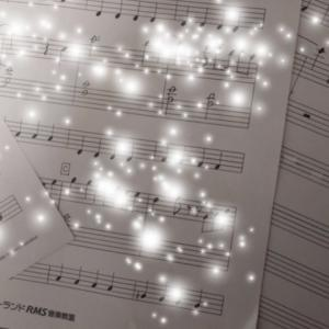 発表会の楽譜