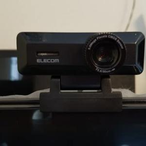 【WEBカメラ購入・設定】エレコムUCAM-C750FBBKを買ってみました。