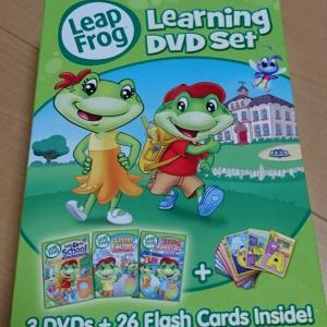 フォニックスで学習で実績のあるLeapFrog Learning DVD Setは幼児英語教育におすすめの3本セット
