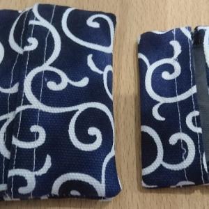 パパのハンクラグッズ★保育園アイテム布製のポケットティッシュカバーを制作してみた