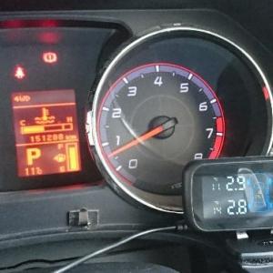 【DIY整備】タイヤの空気圧管理が車内で楽々可能に★デリカにTPMS空気圧モニターを取り付けてみた【D:5】