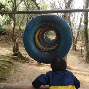 【中部台運動公園】4歳児がフィールドサーキットに初挑戦【松阪市】