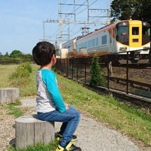 明和町に残る古都『斎宮』は電車好きの子供達にもお勧めの観覧スポットだった