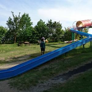 【南部丘陵公園】四日市市最大の公園は一日では遊びつくせない大ボリューム【北ゾーンローラースライダー】