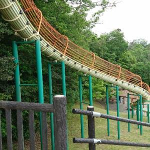 【南部丘陵公園】四日市市最大の公園は一日では遊びつくせない大ボリューム【南ゾーンロングスライダー】