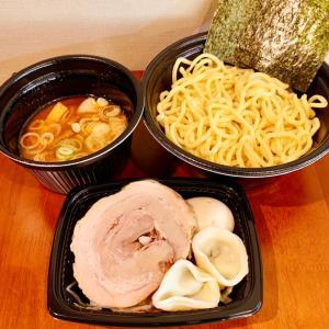 【赤坂テイクアウト・デリバリー】つけ麺:「つけ麺屋 やすべえ」プリプリつるつる自家製麺と濃厚あっさりスープが美味しい♪