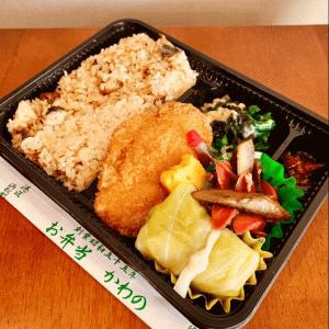 【大門テイクアウト】和食弁当:「お弁当のかわの」毎日でも食べたい!美味しくてお財布にやさしいブラウン弁当☆