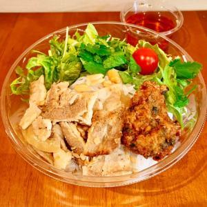 【新橋テイクアウト】ベトナム料理:「ベトナムフロッグ」コスパ最高の麺料理ブン!