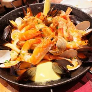 おすすめ銀座スペイン料理:「俺のスパニッシュ」コスパ抜群!生ハム、ピンチョス、アヒージョ、パエリア☆本格スペイン料理をお手頃価格で♪