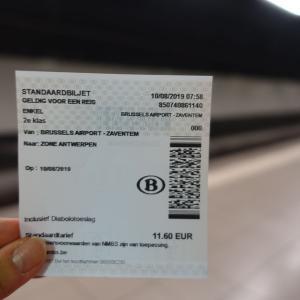ブリュッセル空港から移動!美しいアントワープ中央駅☆ロッカー有り