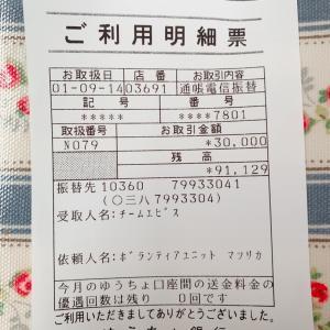 【寄付のご報告】