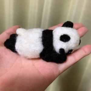 パンダがでろ〜〜ん