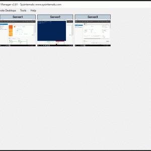 【Windows】リモートデスクトップ接続の管理ツール「RDCMan」の新バージョン公開[v2.81となって復活]