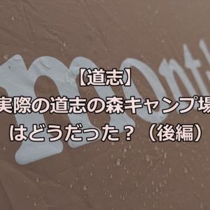 【道志】実際の道志の森キャンプ場はどうだった?(後編)