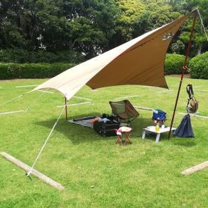 【CAMP】若洲公園キャンプ場にソロデイキャン行ってみた