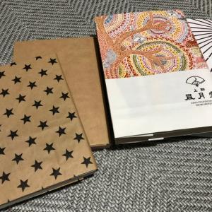 紙袋で作るブックカバー☆