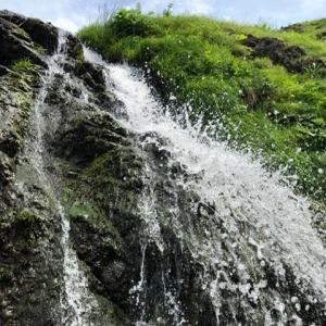 4ヶ月ぶりの滝は中泊の七ツ滝♪