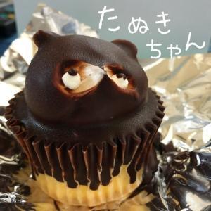 """だいご菓子司のケーキ""""たぬきちゃん"""""""