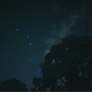 夜の徘徊☆スマホで星撮り