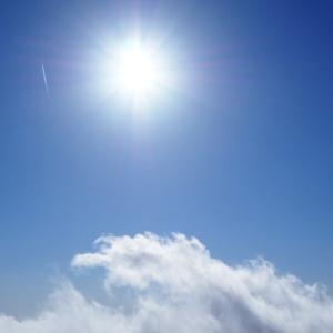 太陽と雲!