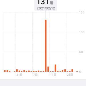 """iPhoneと歩く""""22,000歩"""""""