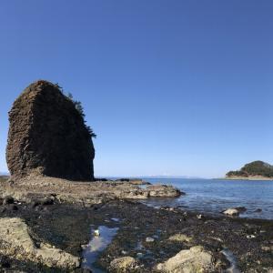 浅虫の裸島とカモメ島
