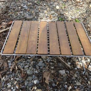 【DIY】ソロキャン用のテーブルを作ってみたよ☆