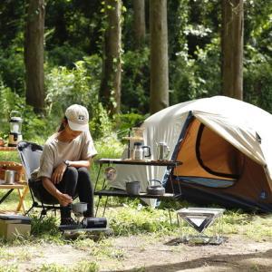女の子 おひとりさまの「ソロキャンプ」