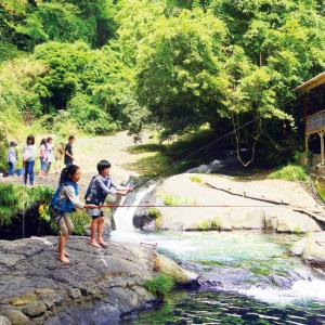 子供もたのしめる渓流釣り