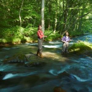 渓流釣りの楽しさ