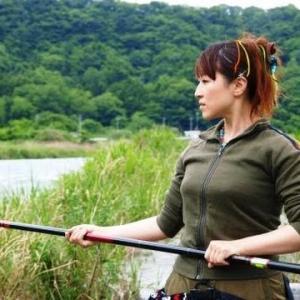 女子鮎釣り初心者にオススメは楽しむ事から