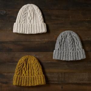 『ニット帽』は何編み?