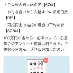 """""""前澤カップル基金"""" 途中報告に驚愕!"""