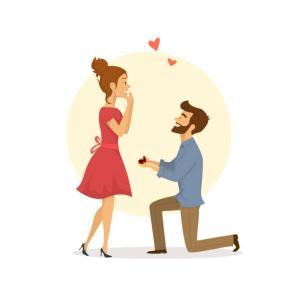 今日は求婚の日
