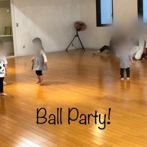 Ball Party! after lessons!