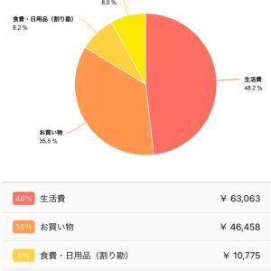 7月度の家計簿