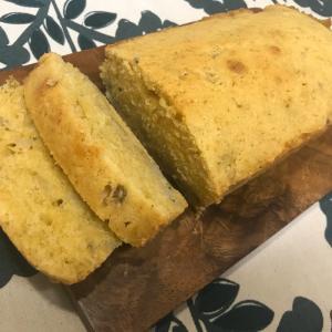 息子とお菓子作り。きび砂糖のバナナパウンドケーキ♡
