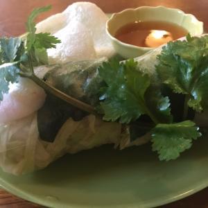 久しぶりのベトナム料理。